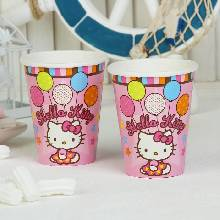 Набор стаканов Hello Kitty 8 шт. 260 мл