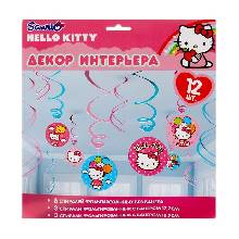 Спираль Hello Kitty 46-60 см 12 шт.
