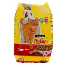 Сухой корм FRISKIES ADULT для кошек, мясо/печень/курица, 2 кг