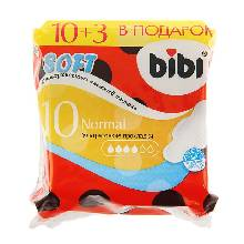 Прокладки BiBi Normal Soft 10+3 шт