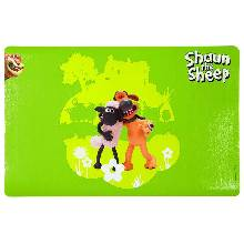 Коврик Trixie под миску Shaun the sheep 44 х 28 см. зеленый