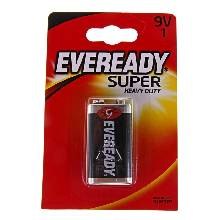 Батарейка солевая Energizer Eveready Super Heavy Duty 9V 1шт.
