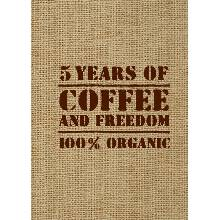 5 YEARS OF COFFEEFREEDOM (мешковина)