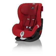 Автокресло Britax Röemer King II LS Black Series группа 1 цвет Flame Red