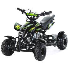 Мини-квадроцикл MOTAX ATV H4 mini-50 cc черно-зеленый