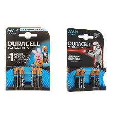 Батарейка алкалиновая Duracell ААА набор 4 шт. LR03-4BL TURBO