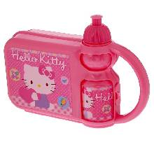 Сэндвич-бокс 400 мл Hello Kitty с бутылкой